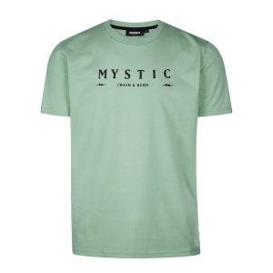 Mystic hush tee Sea salt front